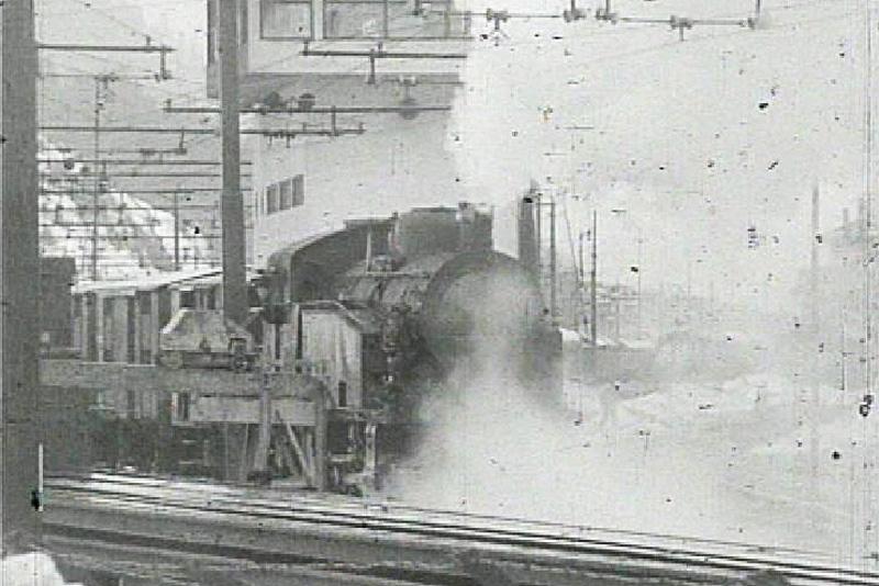 Dampfzug auf der Brennerbahn