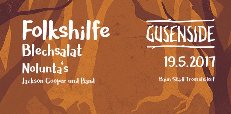 Gusenside Plakat