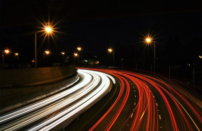 Straßen Nacht