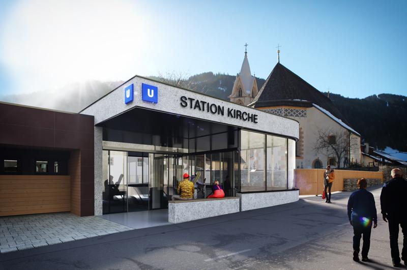 Visualisierung U-Bahn Serfaus