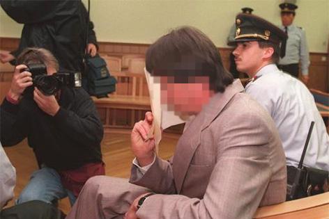 Wolfgang Ott bei Gericht