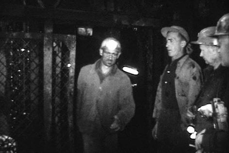 Bergleute unter Tag