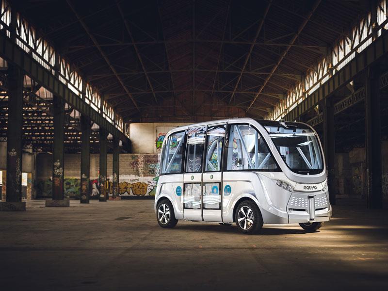 Selbstfahrender Bus kommt nach Wien
