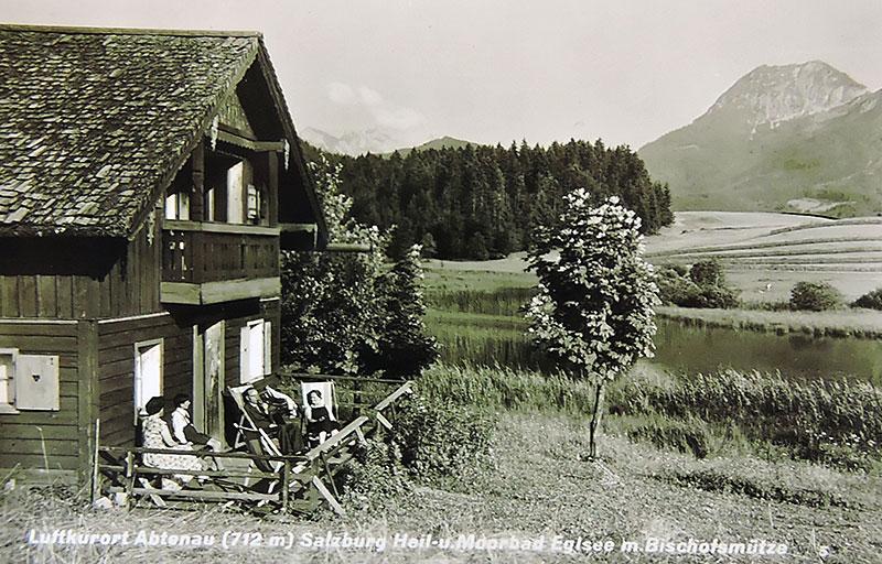 historische Ansicht des Egelsee in Abtenau