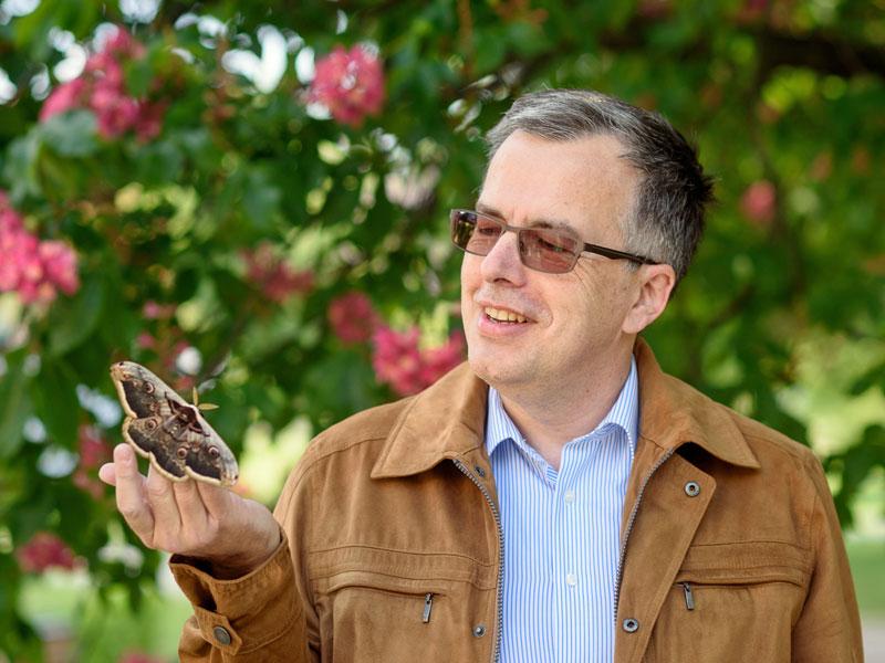 Peter Huemer, Kustos Naturwissenschaftliche Sammlungen Tiroler Landesmuseen