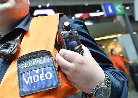 Bodycam eines ÖBB-Mitarbeiters