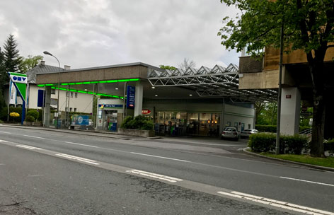OMV Tankstellen Überfall