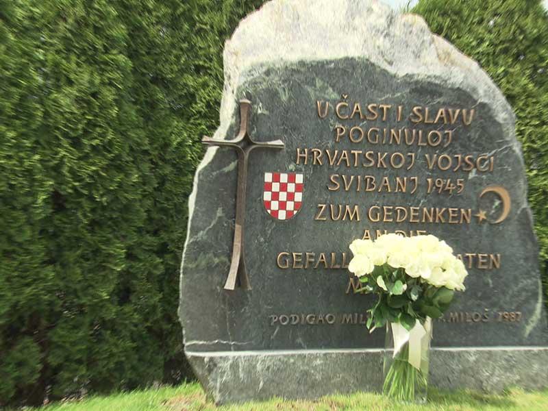 Loibacher Feld Bleiburg Ustascha Gedenkfeier