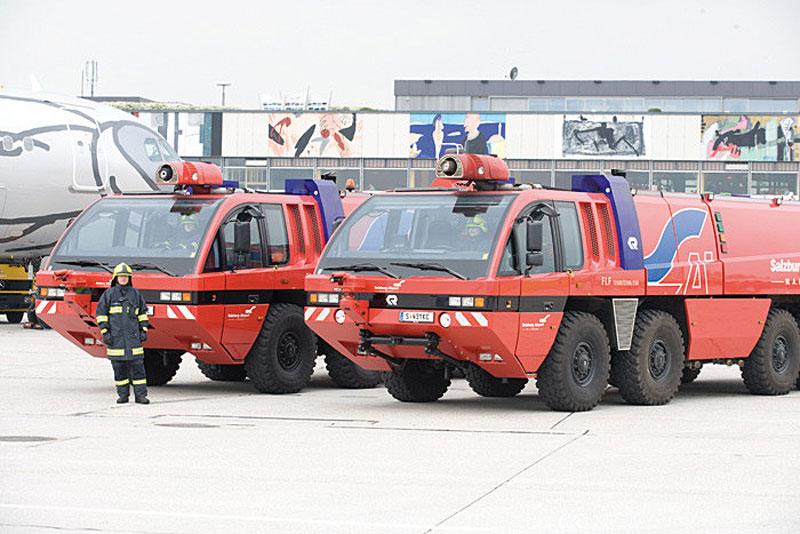 Flughafen Feuerwehr Salzburg