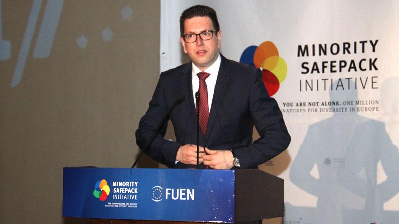 FUEN kongres 2017 u Rumunjskoj  predsjednik FUEN-a Lorant Vincze