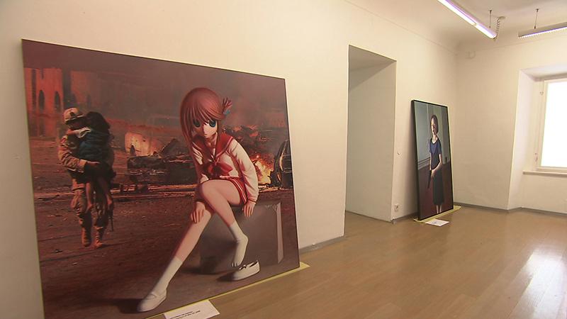 Bilder Helnwein ausstellung Bleiburg Werner Berg Museum
