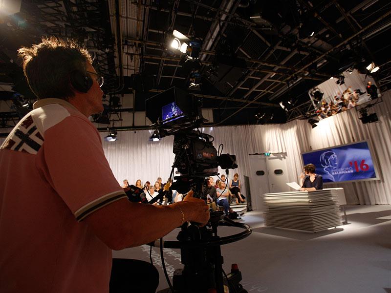 Kamera Technik Video on demand Bachmannpreis