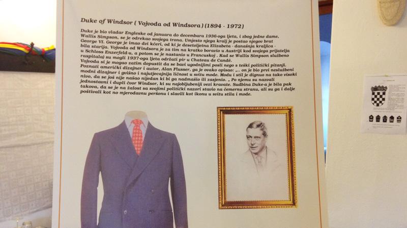predavanje Kraljevski regiment Hrvatov kravate Šopron