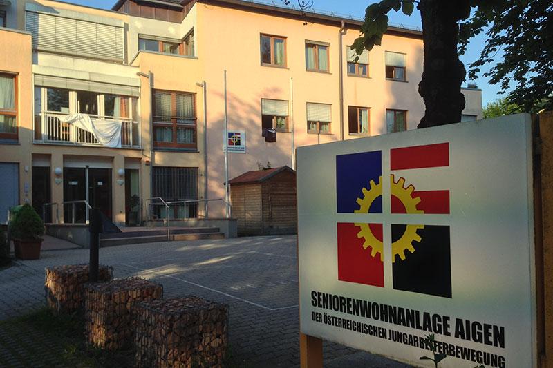Das Seniorenwohnheim der Österreichischen Jungarbeiterbewegung in Salzburg Aigen