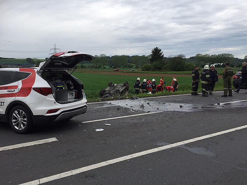 Verkehrsunfall Oberwart B63