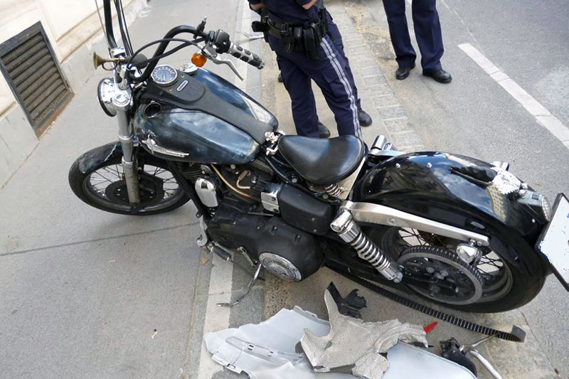 Motorrad Polizei