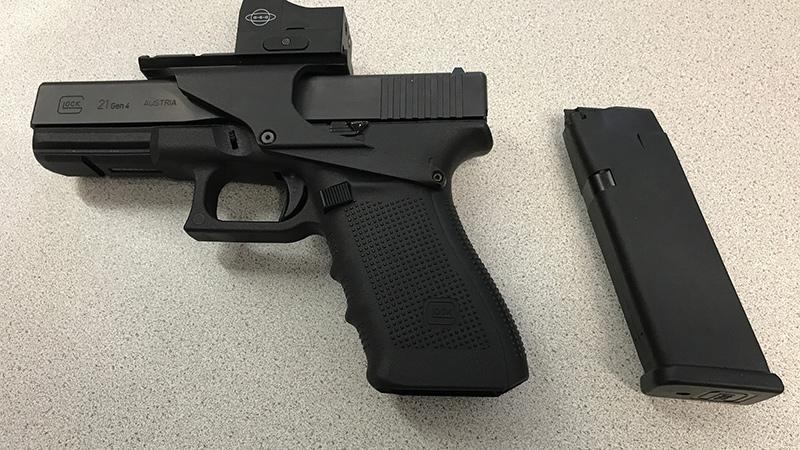 Glock 21 Schusswaffe Pistole Waffe GTI