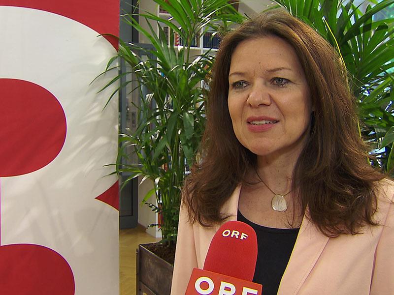 Pressekonferenz Bachmannpreis 2017 Petra Gruber 3sat