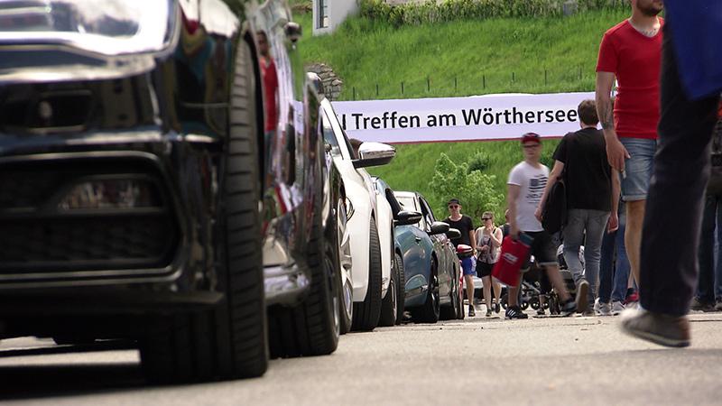 GTI Treffen Autos Besucher Polizei