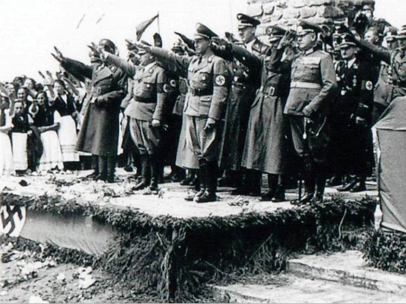Historische Aufnahmen vom Anschluss in Oberschützen