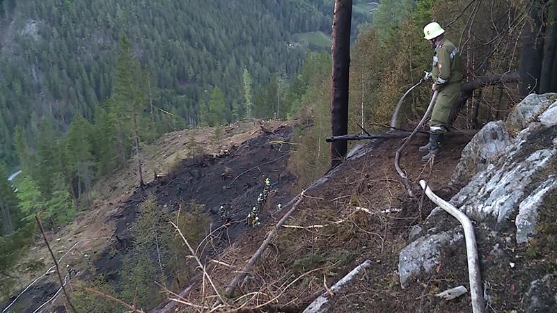 Waldbrand Mölltal