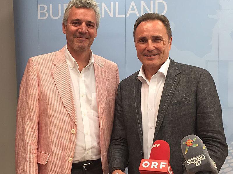 Peter Edelmann und Helmut Bieler