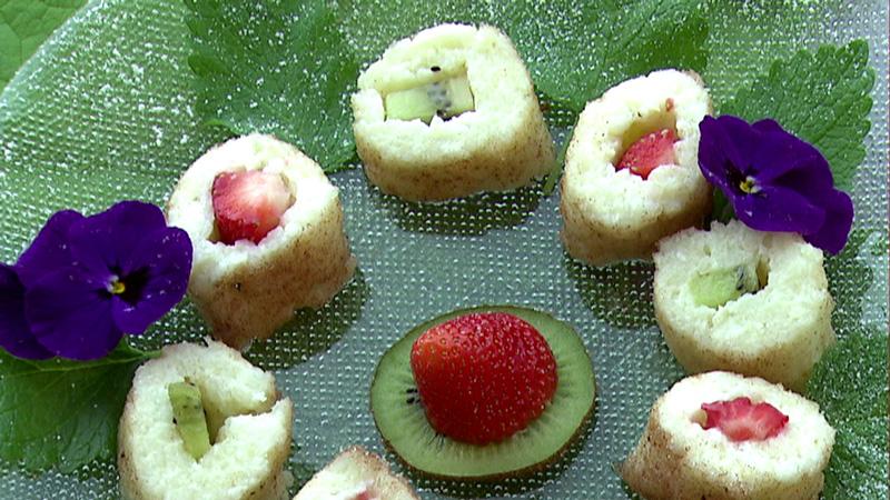 Früchte-Sushi