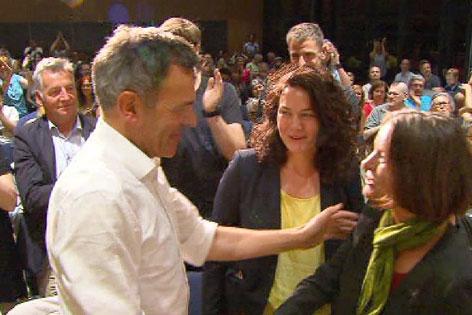 Georg Willi, Sonja Pitscheider, Ingrid Felipe
