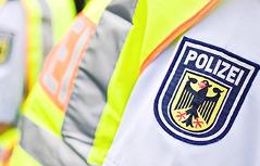 Deutsche Polizei Flüchtlinge aufgegriffen