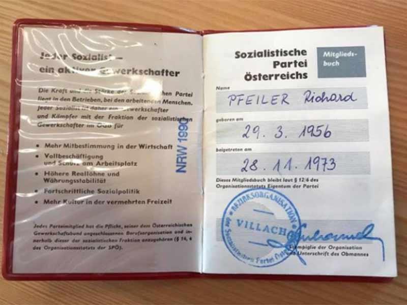 Sondersitzung Gemeinderat Villach SPÖ Ausschluss Pfeiler Parteibuch