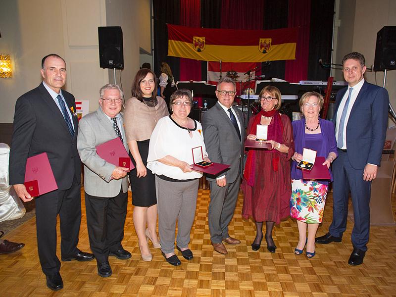 Delegation (2) Auslandsburgenländer geehrt Toronto