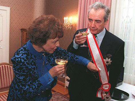 Edith und Alois Mock