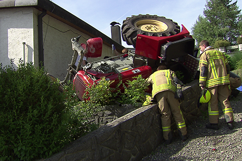 Traktor Unfall Dornbirn