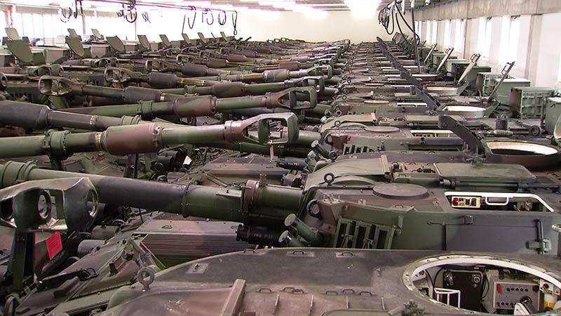 Panzerhaubitzen Lettland verkauft