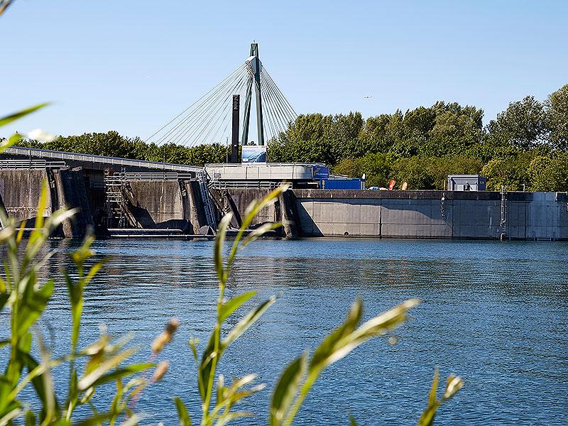 Neues Kleinkraftwerk auf der Donauinsel