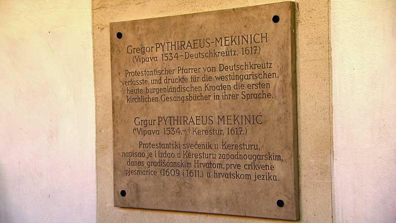 Otkrivanje spomen ploče u dvorcu u Keresturu