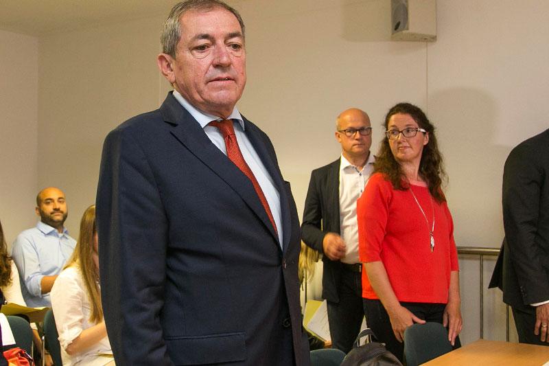 Bürgermeister Heinz Schaden und Monika Rathgeber