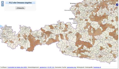 Radon Belastung Tirol