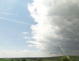 Klimaszenarien Studie Burgenland Klimawandel Sonne Himmel Windrad Wetter Natur Umwelt