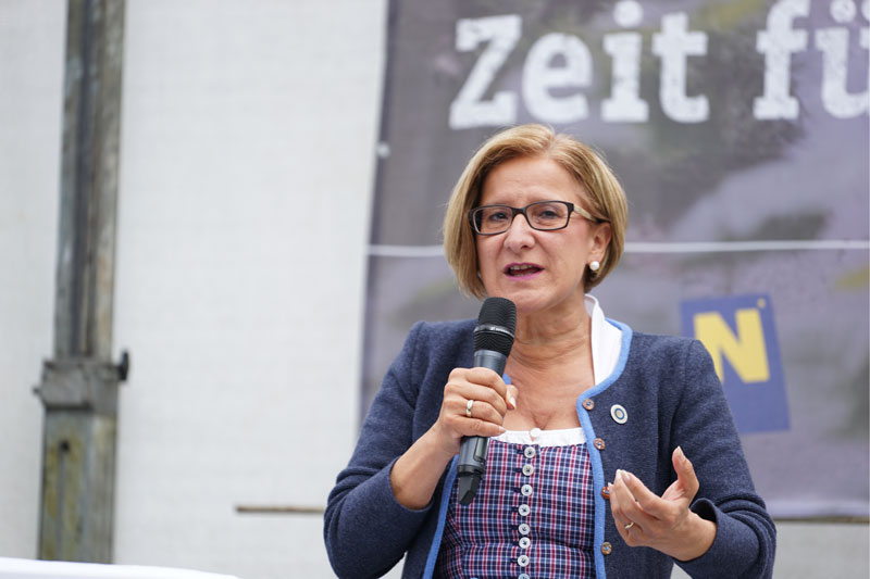 Johanna Mikl-Leitner Eröffnung Ybbstalradweg