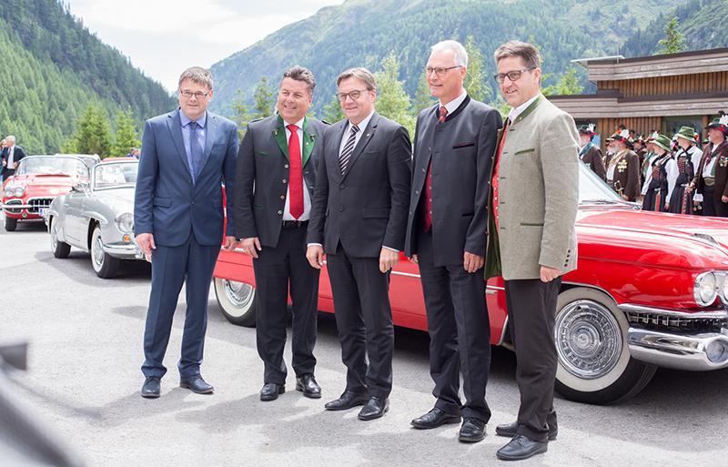 Michael Köll, Hans Mayer, Günther Platter, Karl Poppeller, Michael Obermoser