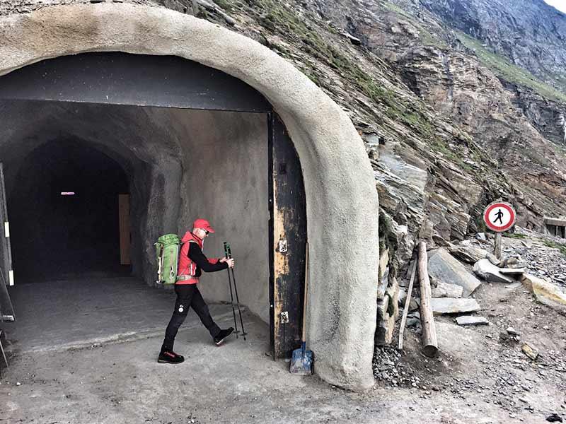 Steinschlag Gefahr Gamsgrubenweg