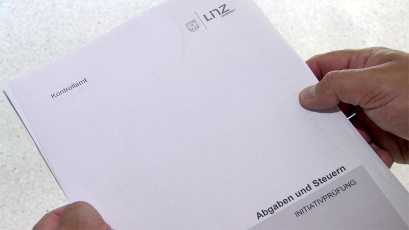 Kontrollamtsbericht Linz