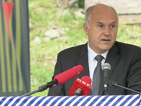 Ljubelj spominska KZ izpostava Valentin Inzko