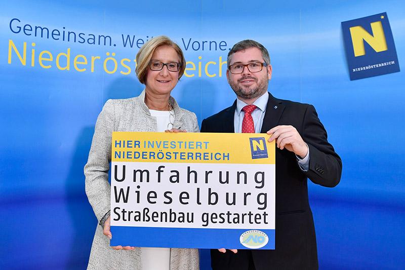 Mikl-Leitner und Schleritzko