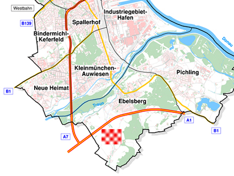 Möglicher Standort LASK-Stadtion