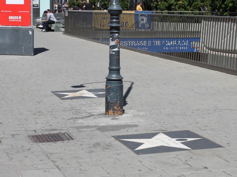 Stern der Musikmeile Wien