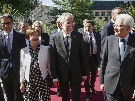 VDB Meran srečanje Matarella Južni Tirol
