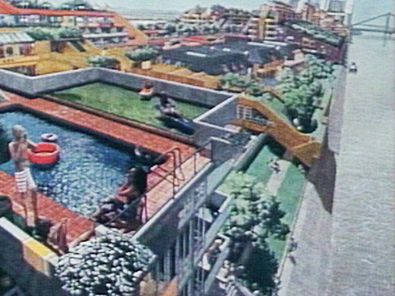 Donauinsel, Konzept Wohnungen