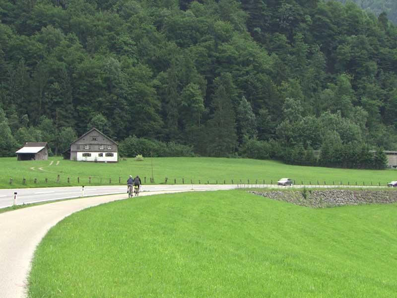 Oldtimertreffen: Mellau im Bregenzerwald